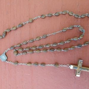 Classic Wooden Beaded Rosary